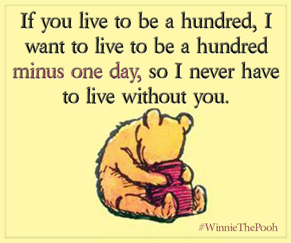 Pooh Love Quotes Love Quotes From Literature
