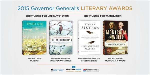 2015 Governor General's Literary Award