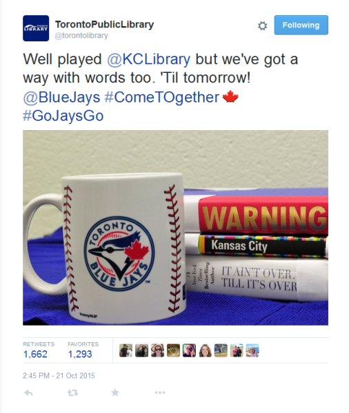 Blue Jays Toronto Public Library Kansas Library Book Spine Poetry