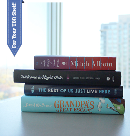 The Savvy Reader What We're Reading in November