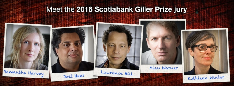 2016 Giller Prize Jury Lawrence Hill Jury Chair