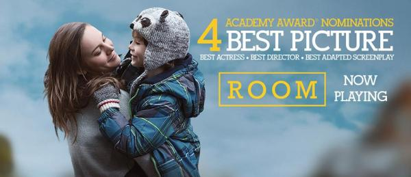 Room Emma Donoghue Academy Awards Nominations