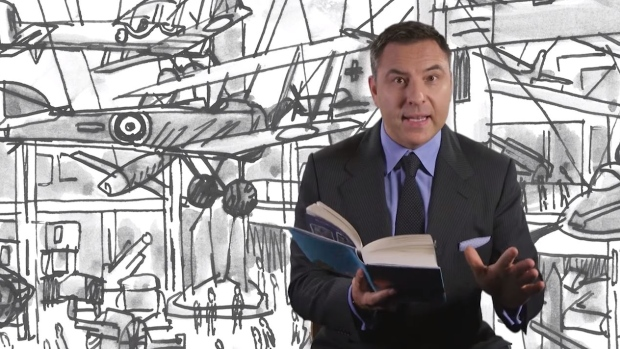 David Walliams CBC Radio Q Grandpa's Great Escape
