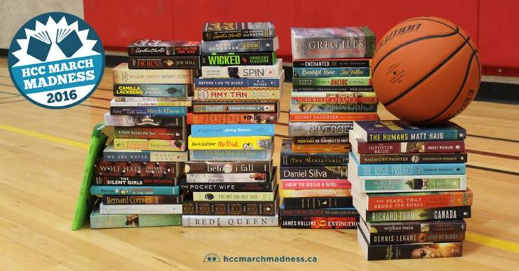HCC March Madness 2016 64 Books to Win