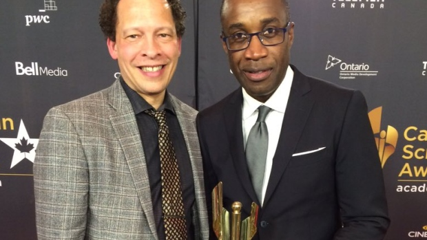 Lawrence Hill Book of Negroes Canadian Screen Awards Miniseries CBC