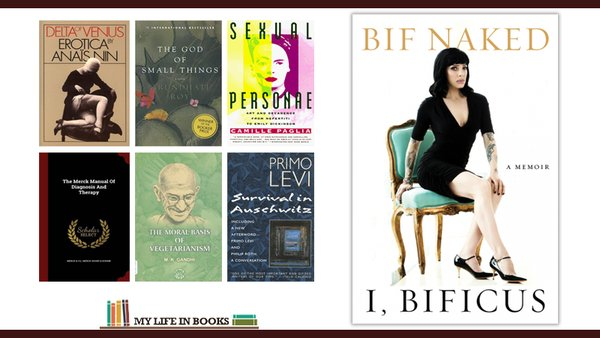 Bif Naked CBC Books Books that changed her life