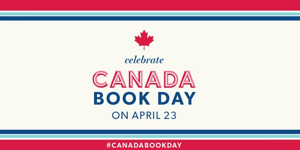 Canada Book Day April 23rd