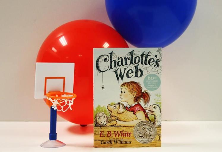 Charlotte's Web EB White HCC March Madness Winner