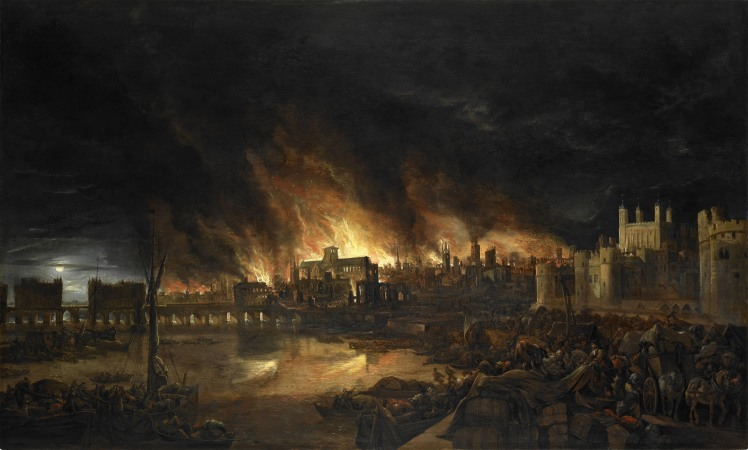 The Great Fire of London: 1666