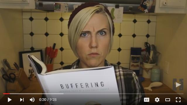 Hannah Hart Buffering My Drunk Kitchen Book Cover Reveal