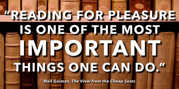 Neil Gaiman Quote The View From the Cheap Seats