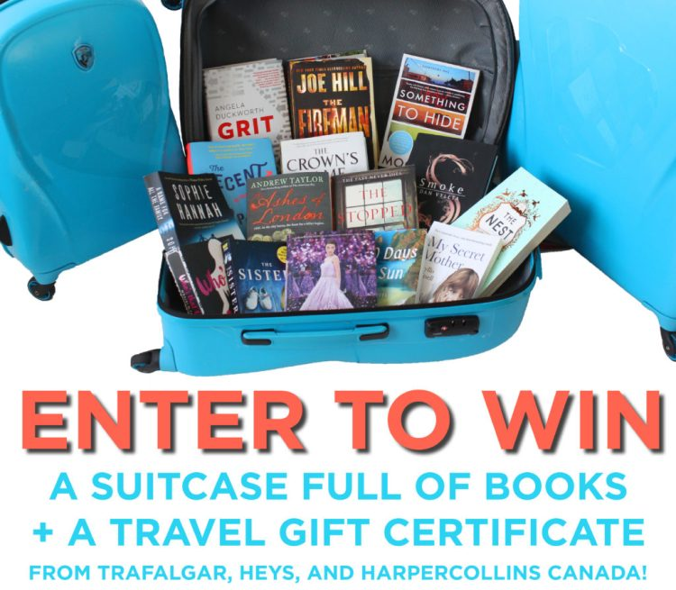 FullofBooks Giveaway Suitcase Full of Books