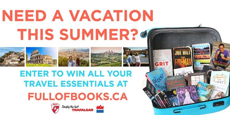 HarperCollins Canada Giveaway Win a Suitcase Full of Books