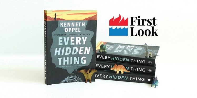 HCC First Look Book Every Hidden Thing Kenneth Oppel