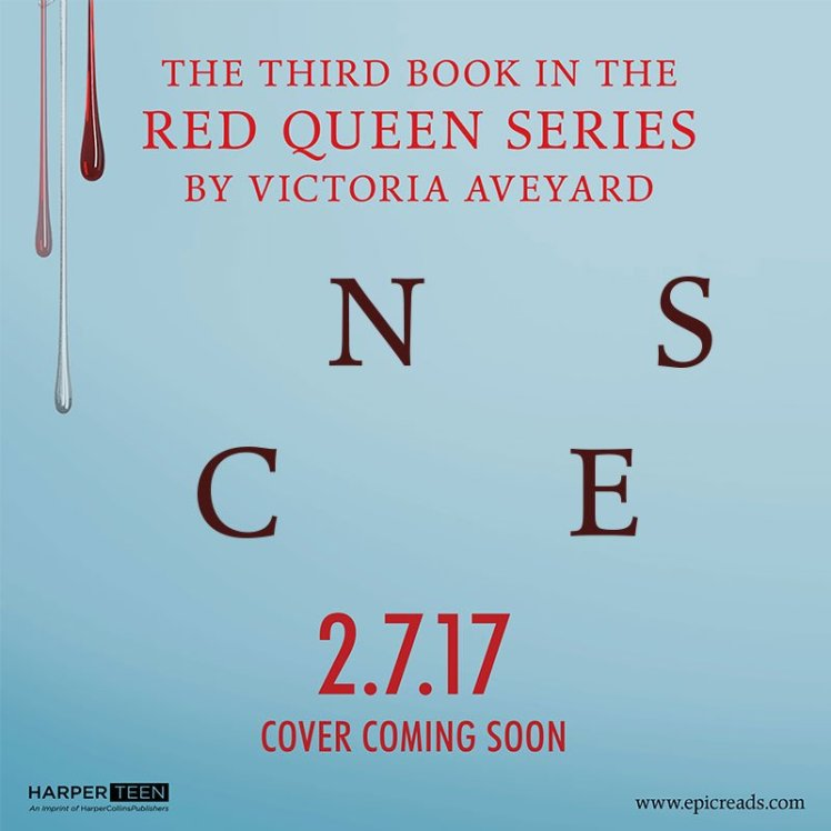 Red Queen Series Book Title Reveal HarperTeen