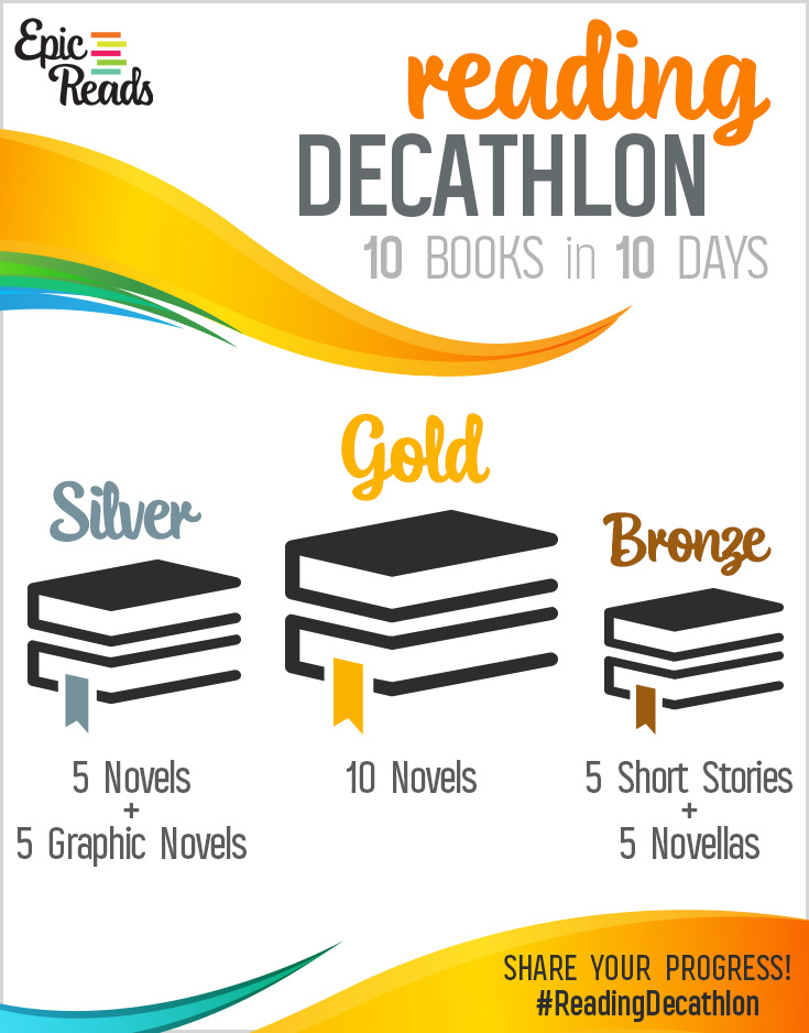 EpicReads Reading Olympics Reading Decathalon Marathon