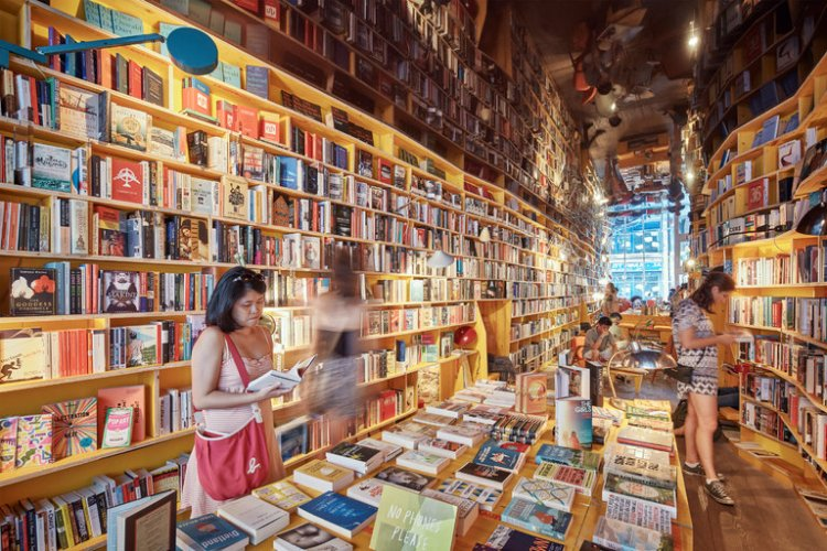 No Wi-Fi Bookstores in London New York Times Article