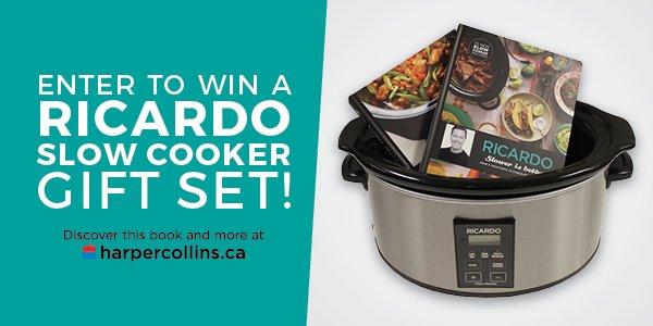 win-a-ricardo-slow-cooker-gift-set-harpercollins-canada