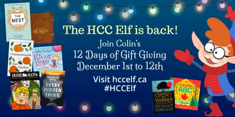 colin-the-hcc-elf-harpercollins-canada-christmas-holiday-giveaways