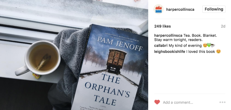 HarperCollins CA Bookstagram Instagram The Orphan's Tale