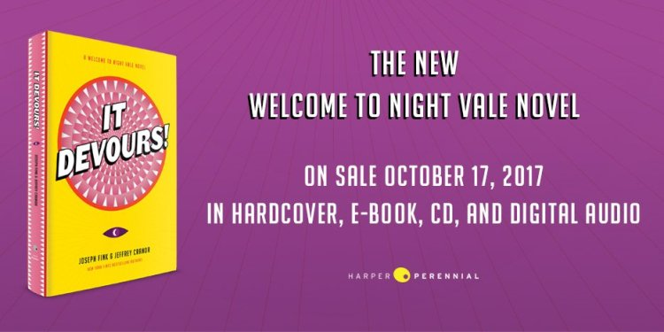 It Devours Welcome to Night Vale Book Announcement
