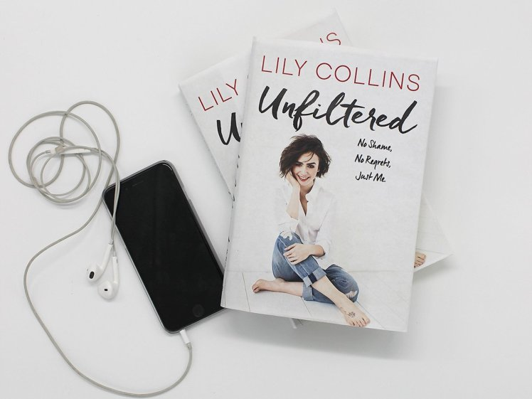 Lily Collins Unfiltered Savvy Reader Giveaway
