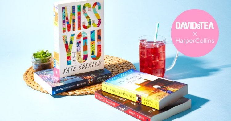 DavidsTea Summer Reading Club HarperCollins Canada Signed Book Giveaway