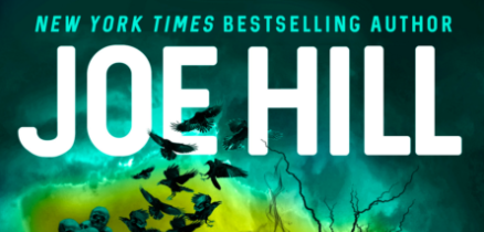 Joe Hill Strange Weather Short Stories Cover Reveal and Excerpt