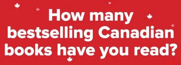 Canada 150 Bestselling Books Buzzfeed Quiz