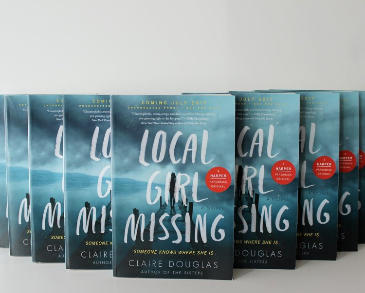 Local Girl Missing Claire Douglas HCC First Look