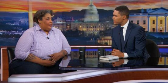Roxane Gay Trevor Noah The Daily Show Screenshot