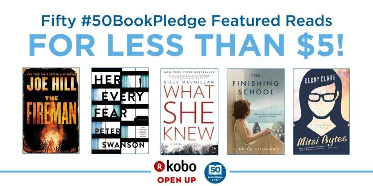 50 Book Pledge Sale 50 Ebooks Under 5 Dollars