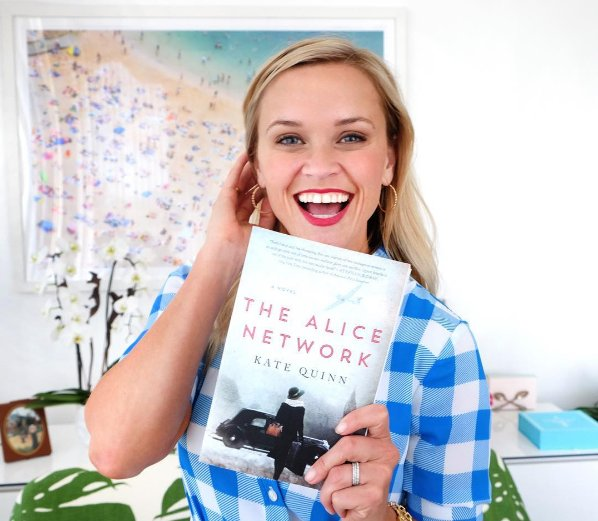 The Alice Network Kate Quinn Reese Witherspoon RW Book Club Pick