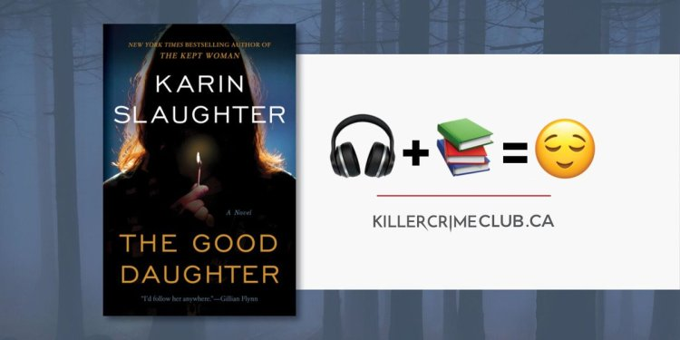 The Good Daughter Karin Slaughter Beats by Dre Headphones Giveaway