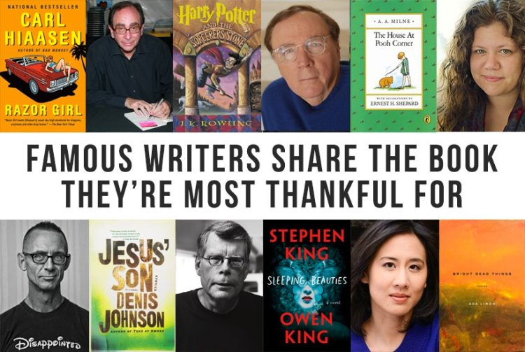 Thanksgiving Authors and Books They're Thankful For Buzzfeed