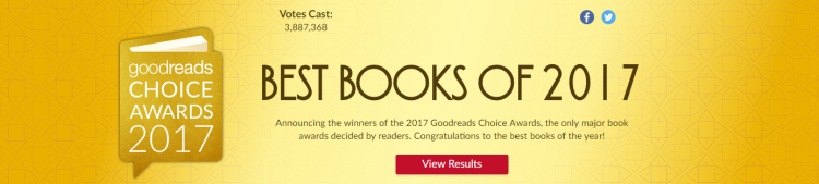 Goodreads Choice Awards 2017 Best Books of 2017