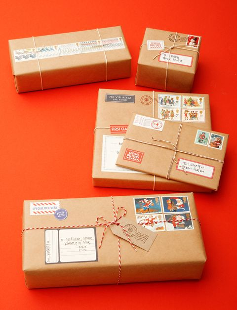Postage wrapping