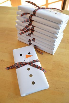 Snowman Wrapping