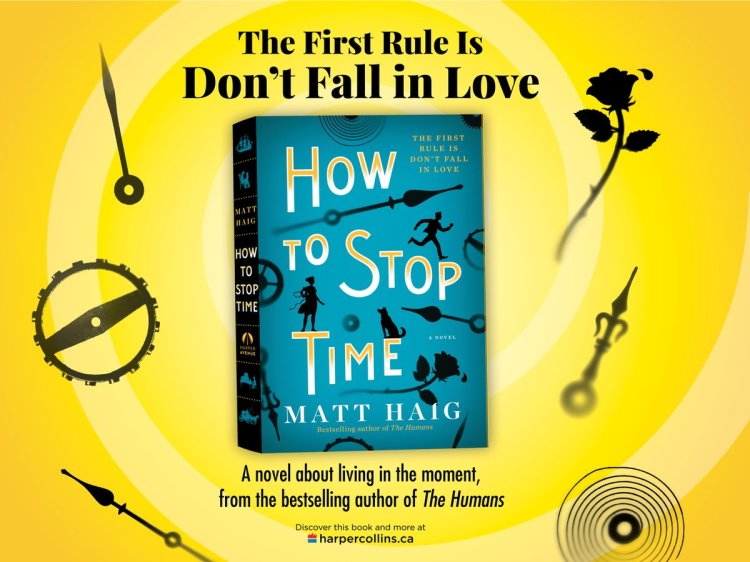 How to Stop Time Matt Haig Canada Giveaway