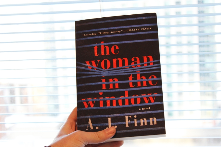 The Woman in the Window 50 Book Pledge Giveaway