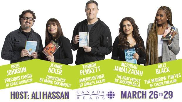 Canada Reads Shortlist 2018