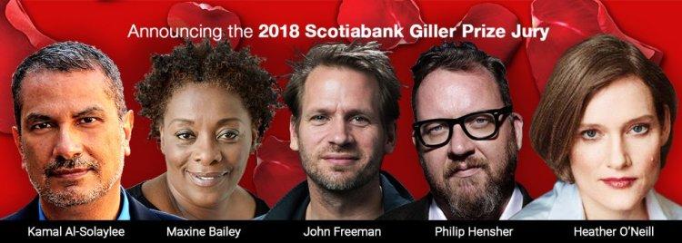 Giller Prize 2018 Prize Jury
