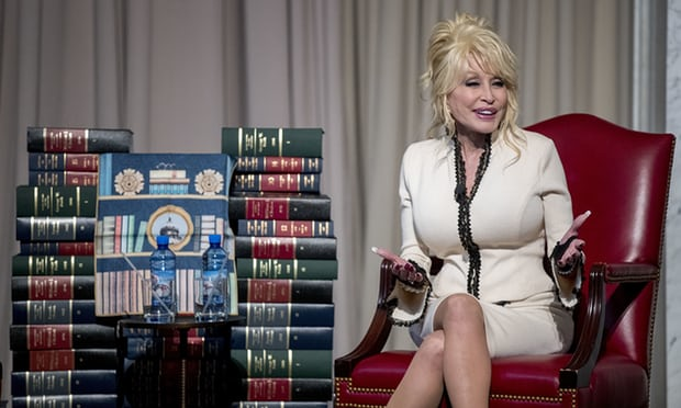 Dolly Parton Imagination Library 100 millionth book donation