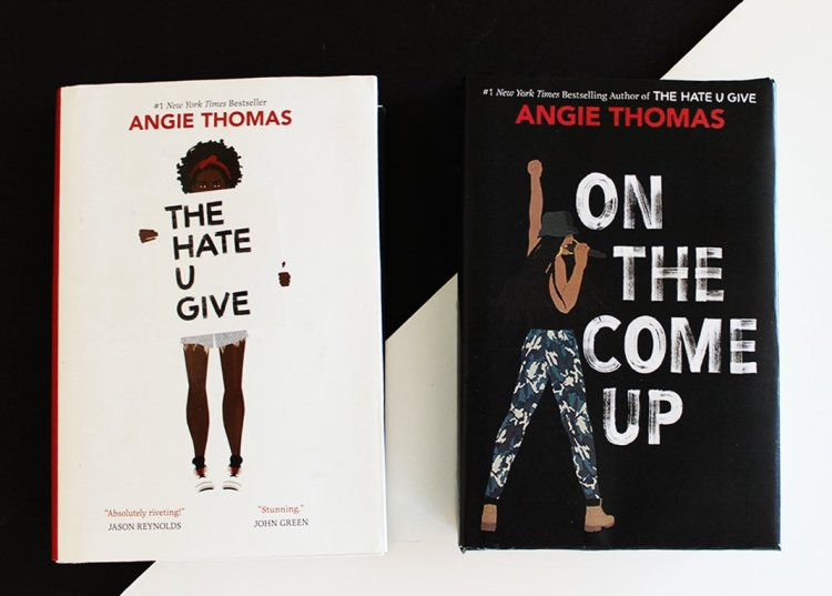The Hate U Give On the Come Up Angie Thomas Giveaway HCC Frenzy