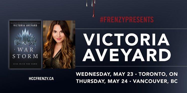 Victoria Aveyard Canada FrenzyPresents Tour