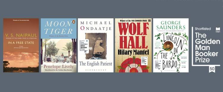 Golden Man Booker Prize Shortlist