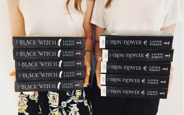 Giveaway The Black Witch The Iron Flower HCC Frenzy